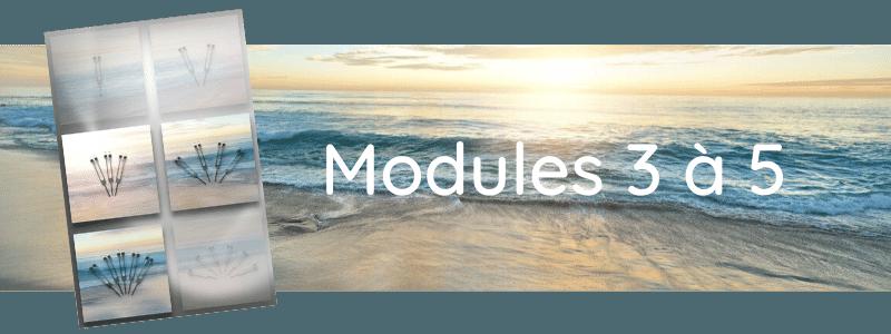 Formation Modules 3 à 5
